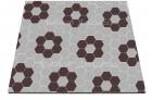 Ladrilho hidráulico Hexagonal - 298A Sextavado