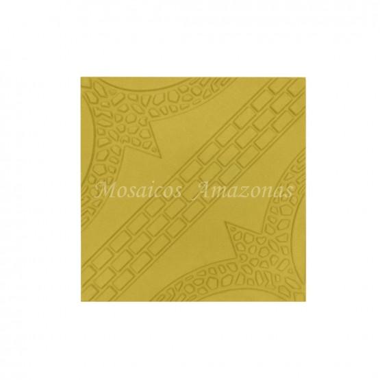 Ladrilho amazonas amarelo 25x25
