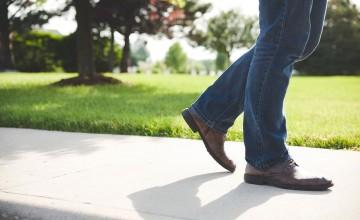 Calçada pedestre