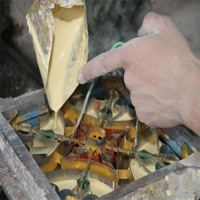 Fabricação de ladrilho hidráulico