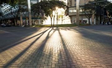 Piso intertravado calçada