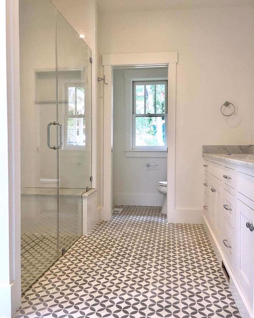 Ladrilho Hidraulico Piso Banheiro : Saiba como e onde usar o ladrilho hidr?ulico